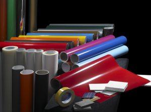 Folien zum erstellen von individuellen Aufklebern und Bedruckungen